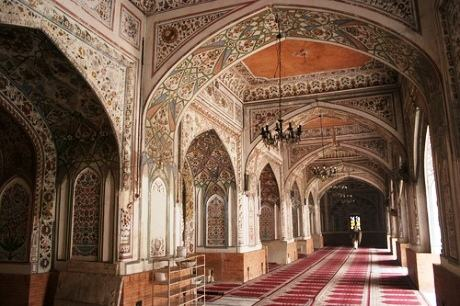 Mahabat Khan Mosque  Interior