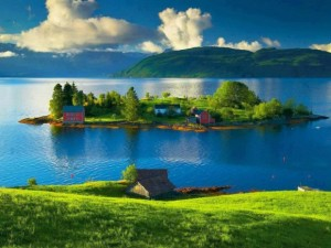 Beautiful places in Norway
