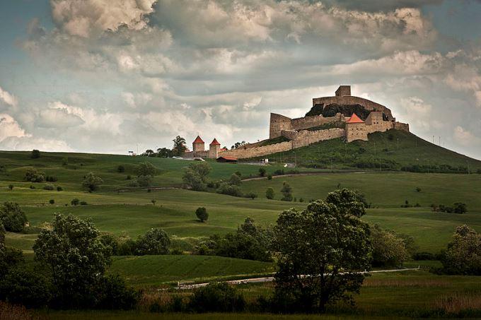 Rupea castle, Brasov