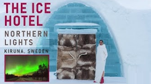 The original Ice Hotel & Northern Lights  in Sweden